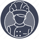 chef, cook, cooker, food, kitchen, knife icon