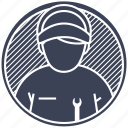 build, fixer, mechanic, mechanical, tool icon