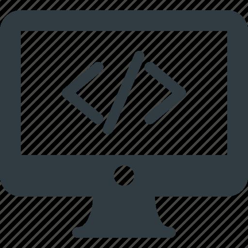 Code, computer, develop, development, source icon - Download on Iconfinder