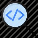 search, code, development, programing