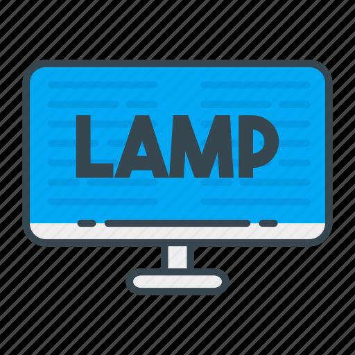 lamp, language, programming, programming language, web, web developer, web development icon