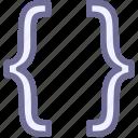 code, codes, development, programming icon