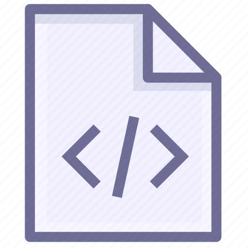 coding, development, programming, script file, webpage, website icon