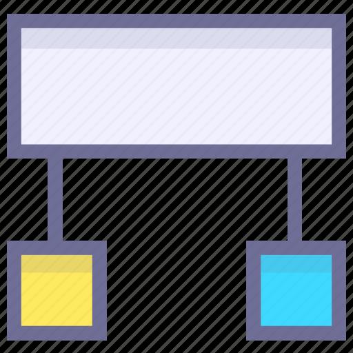 application, code structure, development, programming icon
