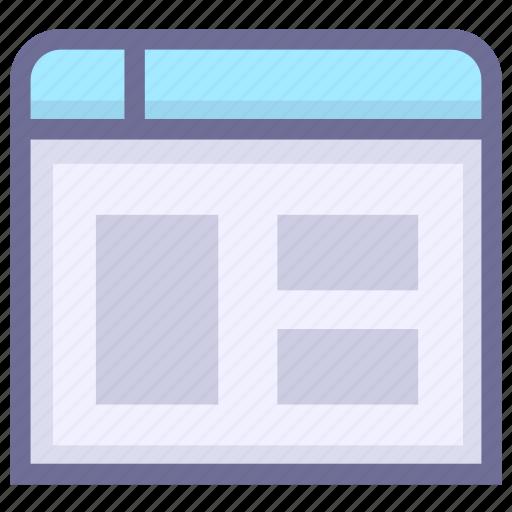 application, design, interface, layout, ui, window icon