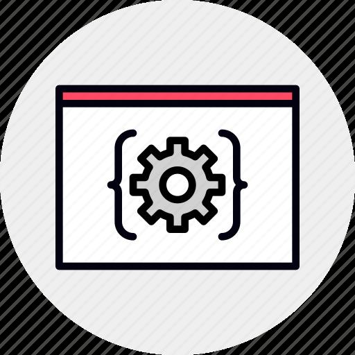 api, app, coding, developer, engineering, platform, software icon
