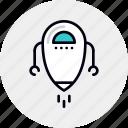 android, beta, droid, future, robot, techology, version icon