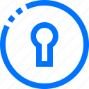 padlock, programming, unlock icon