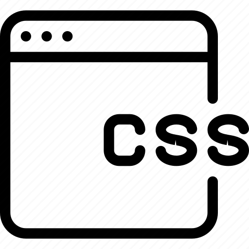coding, css1, development, program, programming icon