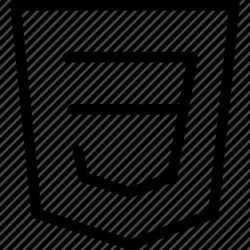 css, development, programming icon