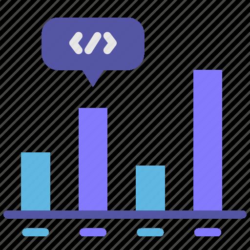 analytic, bar, chart, graphic, seo icon