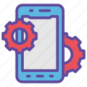 development, gear, mobile, service, smartphone