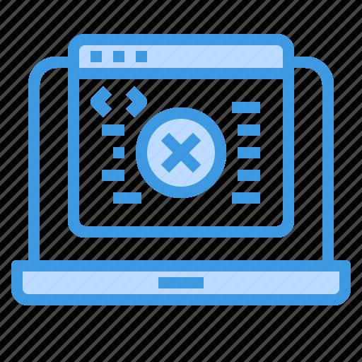 Coding, development, error, programming, technology, web icon - Download on Iconfinder