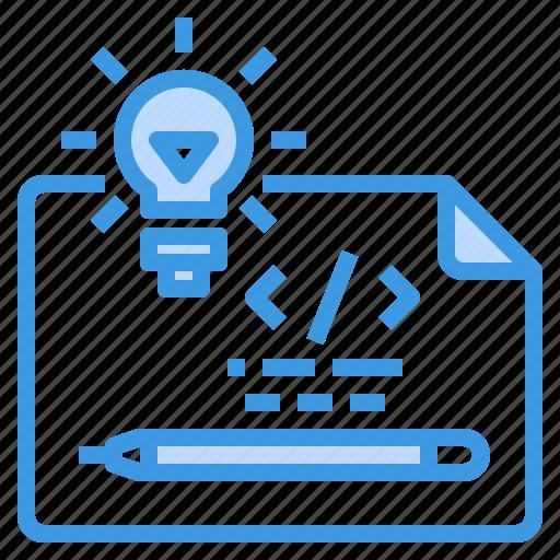 Coding, development, idea, programming, technology, web icon - Download on Iconfinder