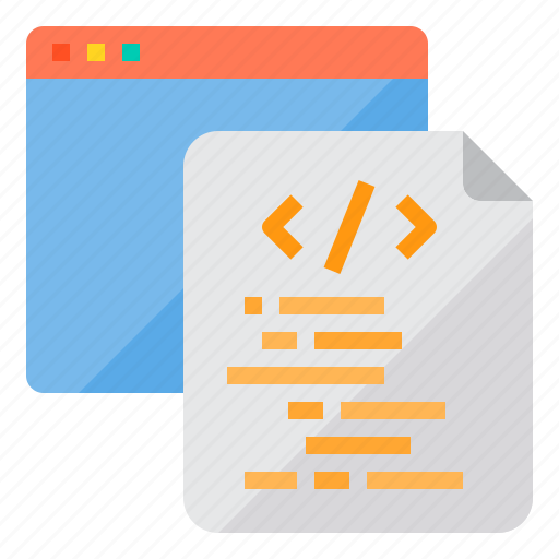coding, development, programming, technology, web icon