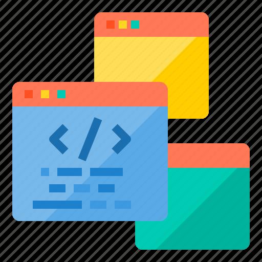 Coding, development, programming, technology, web, website icon - Download on Iconfinder