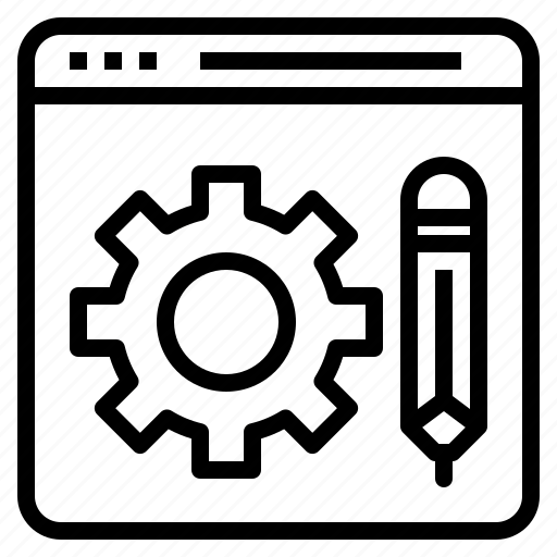 code, coding, development, edit, programming, technology, web icon