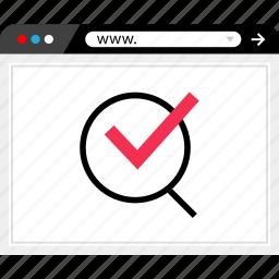 browser, find, online, web icon