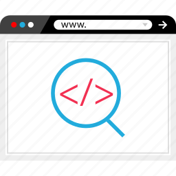 find, look, search, web icon