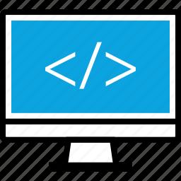 code, development, mac, pc, program, programming, web icon