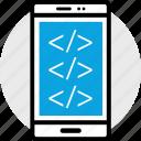 coding, development, program, programming, web icon