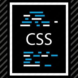 css, development, page, program, programming, web icon