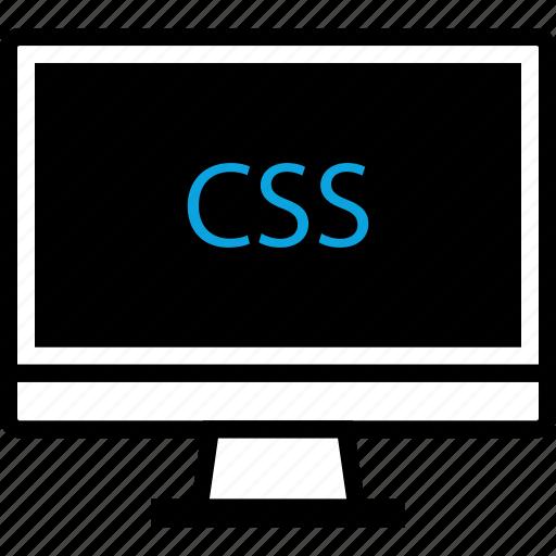 css, development, mac, pc, program, programming, web icon