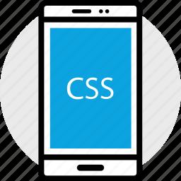 css, development, program, programming, web icon