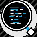 code, debugging, development, program, programming, web icon