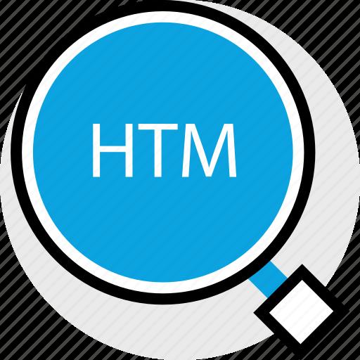 development, find, htm, program, programming, web icon