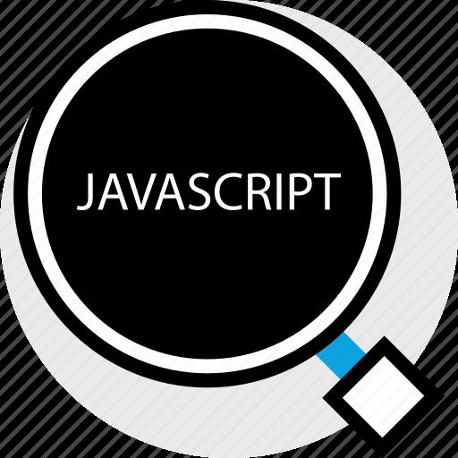 development, find, javascirpt, program, programming, web icon
