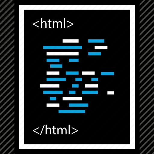 development, html, program, programming, web icon
