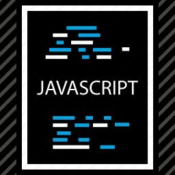 development, document, javascript, program, programming, web icon