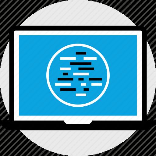 code, development, lines, of, program, programming, web icon