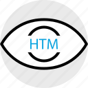 development, htm, program, programming, search, web icon