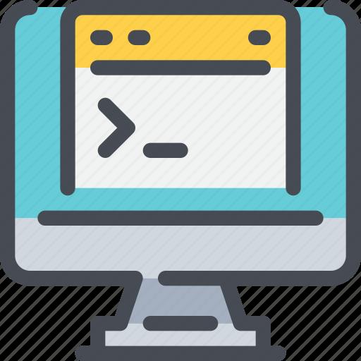 code, coding, computer, develop, development, programming icon
