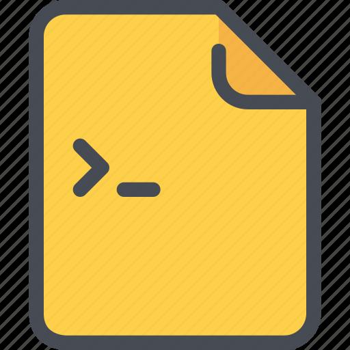 code, coding, develop, development, document, file icon