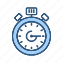 appointment, deadline, schedule, stopwatch, timer icon