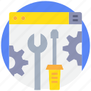 coding, develop, development, fix, programming icon