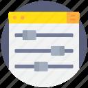 coding, develop, development, option, programming icon