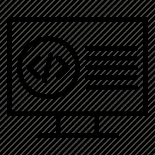 Code, coding, programming, development icon - Download on Iconfinder