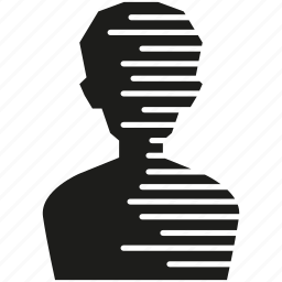 anonymous, avatar, human, man, people, person icon