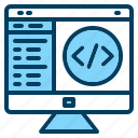 app, code, coding, computer, dashboard, develop, programming icon icon