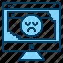 bad, crash, development, error, programming icon icon