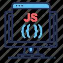 display, javascript, js, programming language