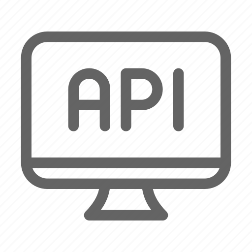 api, application, software icon