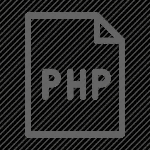 language, php, programming icon