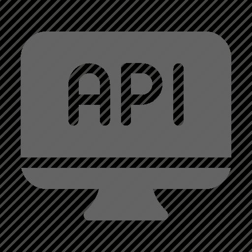 api, application, software icon