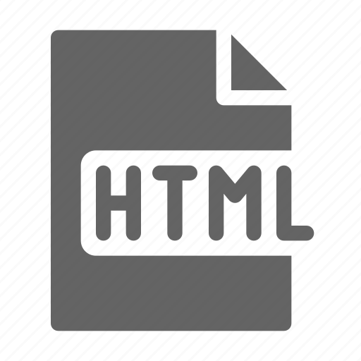 html, language, programming icon