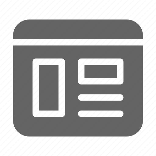content, web, webpage icon